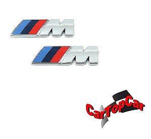 Emblema M para BMW com Fita Dupla Face - MPOWER