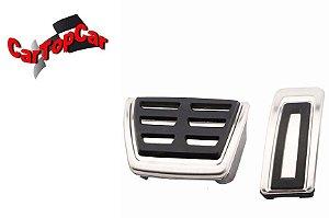 Pedaleira Modelo Golf GTI para New Beetle / A3 / Golf TSI - Kit com 02 Peças ( Apenas Acelerador e freio)