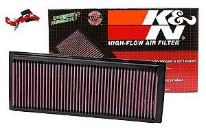 Filtro de Ar K&N JETTA GLI 19> GOLF GTI 2.0 | Audi A3 2.0 2016+ | Audi TT 2.0 230 cv 2016+ | Ref. 33-3005