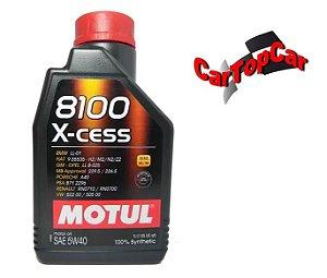 Oleo Motul 8100 X-cess 5W-40 100% Sintético