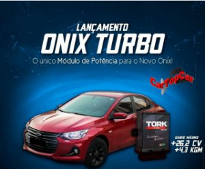 Piggyback com Bluetooth para Gm Onix Turbo