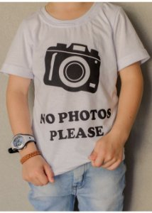 T-Shirt No Photos Please