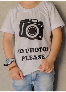 T-Shirt No Photos Please
