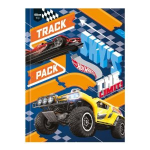 AGENDA TILIBRA HOT WHEELS PERMANENTE COSTURADO PEQUENA 96FLS