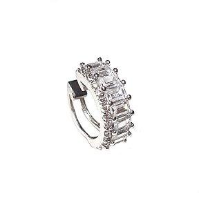 Piercing Canutilhos Cravejados Silver