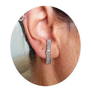 Brinco Earhook STONE Silver