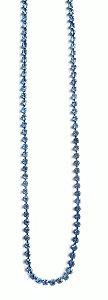 Colar Riviera Fina Mini Azul Anil