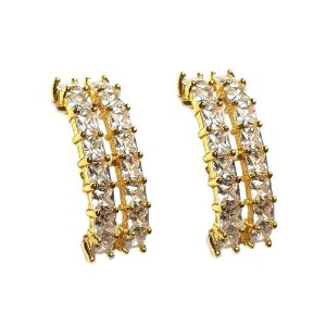 Brinco Earhook 2 Fileiras Gold