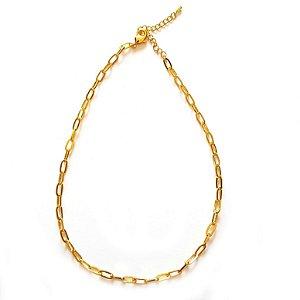 Colar Chocker Elos Cartier Ouro