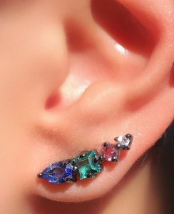 Brinco Mini Earcuff Colors Conti
