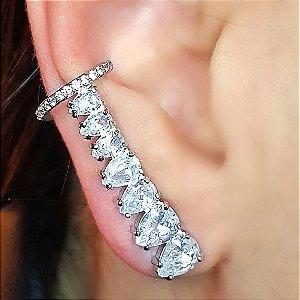 Piercing Earcuff Diamond Conti