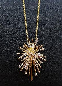 Colar Star Glam Gold