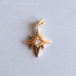Pingente Star Gold