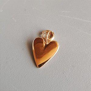 Pingente coração gold Mikonos