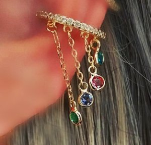 Piercing Chuvinha Colors