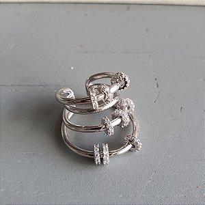 Brinco Piercing Argolas Silver Mistic