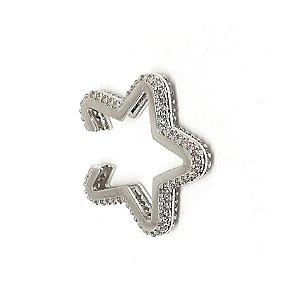 Piercing Star Total Cravejado Silver Mistic