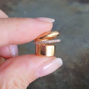 Piercing Gold Cravejado Mistic