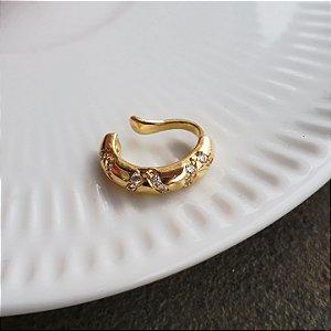 Piercing Gold Etnic Cravejado Mistic