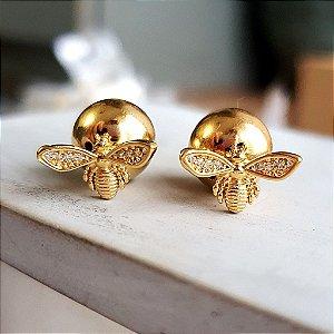Brinco Abelhinha gold Mistic
