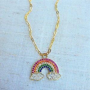 Colar arco íris Rainbow