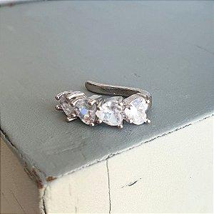 Piercing Coração Silver