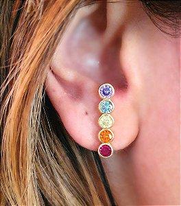 Brinco Earhook Rainbow Perfect
