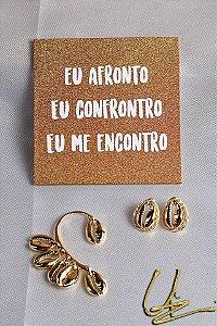 Kit Eu Afronto Dourado