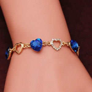 Pulseiras para As Mulheres de Cristal Cor de Ouro Charme Pulseiras Bangles pulseira Da Moda Jóias