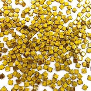 Conta Tile Bits 2 Furos Amarelo 83120/86800