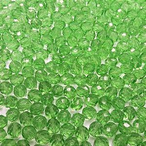 Conta Facetada Verde 5012