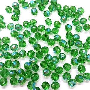 Conta Facetada Verde Claro/AB 5052