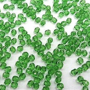Conta Facetada Verde Claro 5053