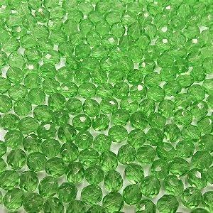 Conta Facetada Verde Claro 5052