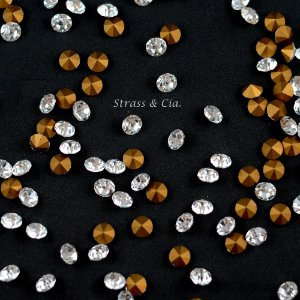 Strass Diamond Tcheco - Cristal