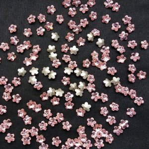 Flor 4744 Light Rose - Swarovski