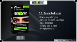 Henna Knnury 3.0 Castanho Escuro