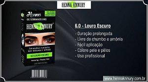 Henna Knnury 6.0 Louro Escuro