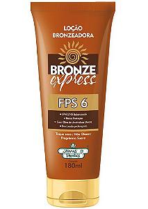 Locao Bronzeadora Bronze Express 180G FPS 6