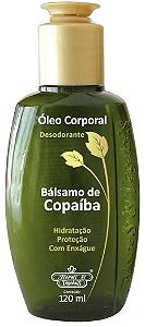 Oleo Corporal Desodorante Copaiba 120ML