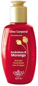 Oleo Corporal Desodorante Morango 120ML