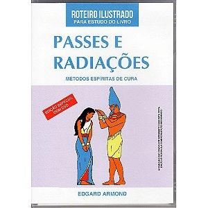 Roteiro Ilustrado Para Estudo Do Livro Passes E Radiações C/ Dvd