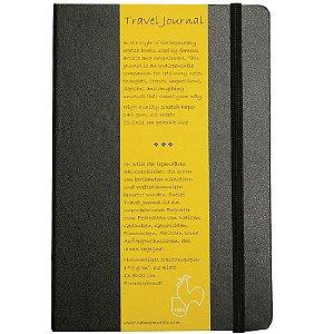 Caderno de Viagem 13,5x21 travel journal retrato 140g/m² 62fls Hahnemuhle