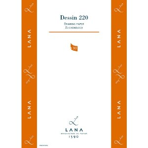 Bloco Lana Dessin A3 220g/m² 30 fls Hahnemuhle 15023530