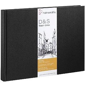 Sketch Book D&S A3 140g/m² Paisagem 80 fls Preto Hahnemuhle