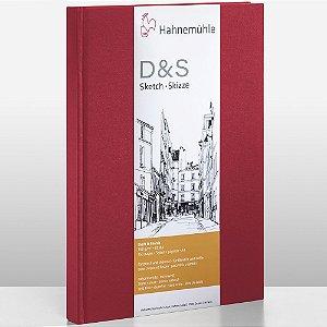 Sketch book D&S A4 Vermelho 140g/m² Retrato 80 fls Hahnemuhle