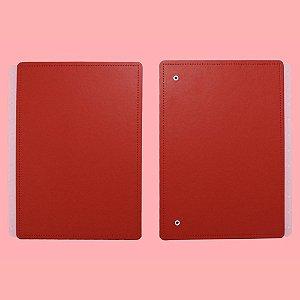 Capa E Contracapa Caderno Inteligente All Red A5