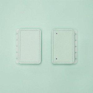 Capa E Contracapa Caderno Inteligente Verde Pastel Inteligine