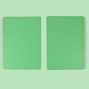 Capa E Contracapa Caderno Inteligente All Green Grande