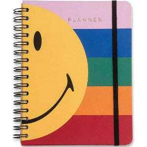 Planner Smiley Listras Wire-O Semanal A5 Cicero